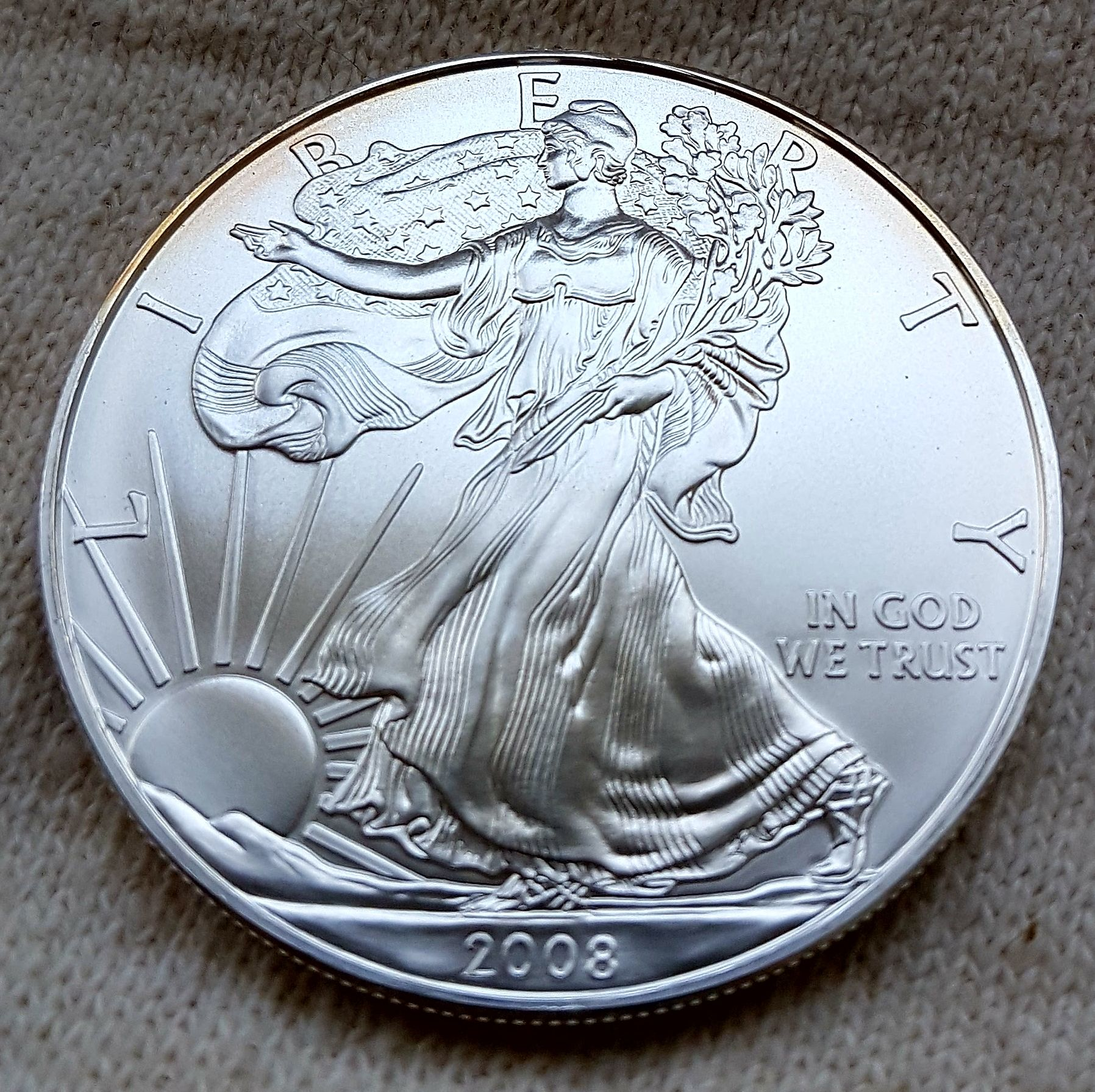 zilveren dollar