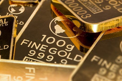 goudprijs, aandelen