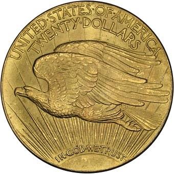 goud, dollar