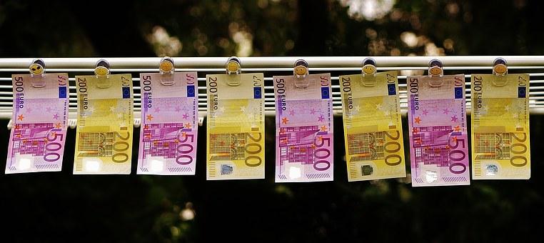 witwassen, 500 euro