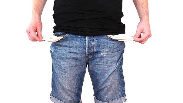 tekort, geld