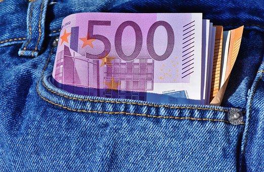 500 euro voor u geïnvesteerd